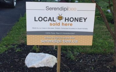 Our honey is now available!